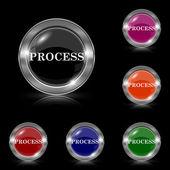 Process icon — Stock Vector
