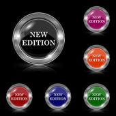 New edition icon — Stock Vector