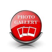 фото галерея значок — Стоковое фото