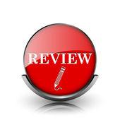 Review icon — Stock Photo