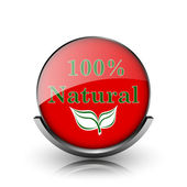 Icono natural 100 — Foto de Stock