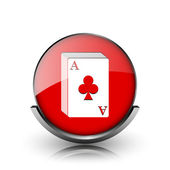 Deck of cards icon — Stock Photo