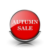 Autumn sale icon — Stockfoto