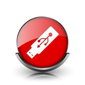 Usb flash drive icon — Stock Photo