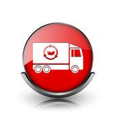 Eco truck icon — Stock Photo