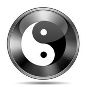 Ying yang icon — Stockfoto