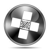 Medical patch icon — Stockfoto