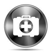 医疗袋图标 — 图库照片