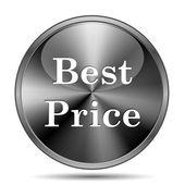 Najlepsza cena ikona — Zdjęcie stockowe