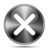 X close icon — Stockfoto