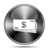 Money icon — Stockfoto