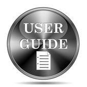 User guide icon — Stock Photo
