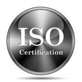 ISO certification icon — ストック写真
