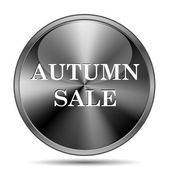 Autumn sale icon — Stock Photo