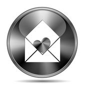 Send love icon — Stockfoto