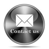Contact us icon — Stockfoto