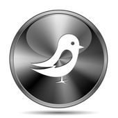 Bird icon — Stock Photo