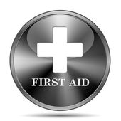 First aid icon — Stockfoto