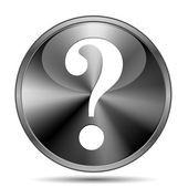 Question mark icon — Stockfoto
