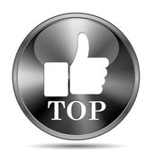 Top icon — Stockfoto