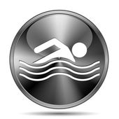Water sports icon — Stock Photo