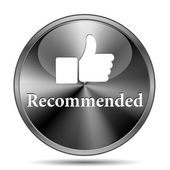 Recommended icon — Stock Photo