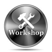 Workshop icon — Stock Photo