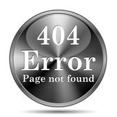 404 error icon — Stockfoto