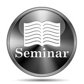 Seminar icon — Stock Photo