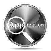 Application icon — Stock Photo