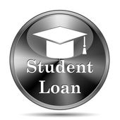 Student loan icon — Stockfoto