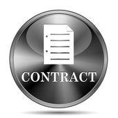 Ikona umowy — Zdjęcie stockowe