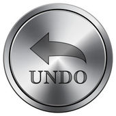 Undo icon — Stock Photo