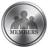 Members icon — Stock Photo