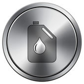 Oil can icon — Stock Photo