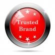 Trusted brand icon — Stock Photo #47533143