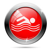 Water sports icon — Foto Stock