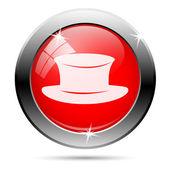 şapka simgesi — Stok fotoğraf
