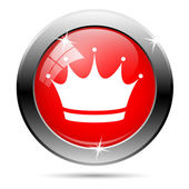Crown icon — Stock Photo