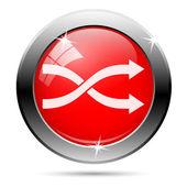 Shuffle icon — Stock Photo