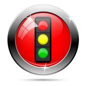 交通灯图标 — 图库照片