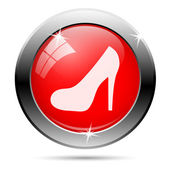 High heel icon — Foto Stock