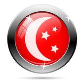 Měsíc ikona — Stock fotografie