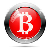 Bitcoin icon — Foto Stock