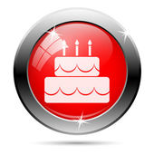 Cake icon — Stock Photo