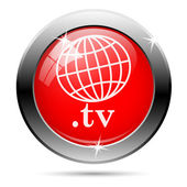 .tv icon — Foto Stock