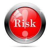 Risk icon — 图库照片