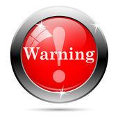 Warning icon — Stock Photo