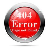 Ikona chyby 404 — Stock fotografie