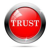 Trust icon — Stock fotografie